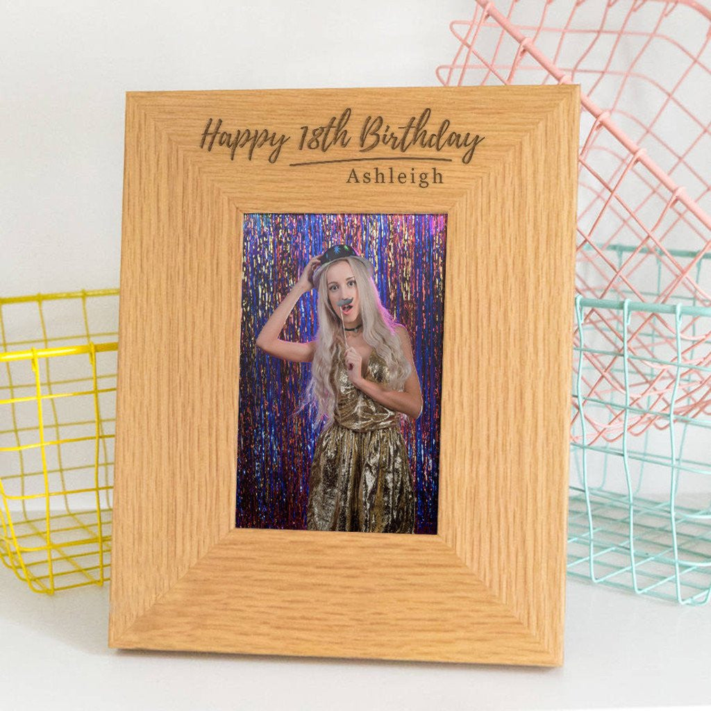 Dust & Things personalised birthday frames