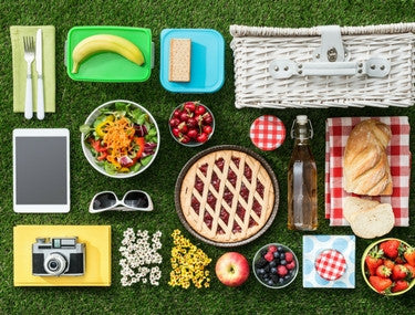 spring entertaining picnics