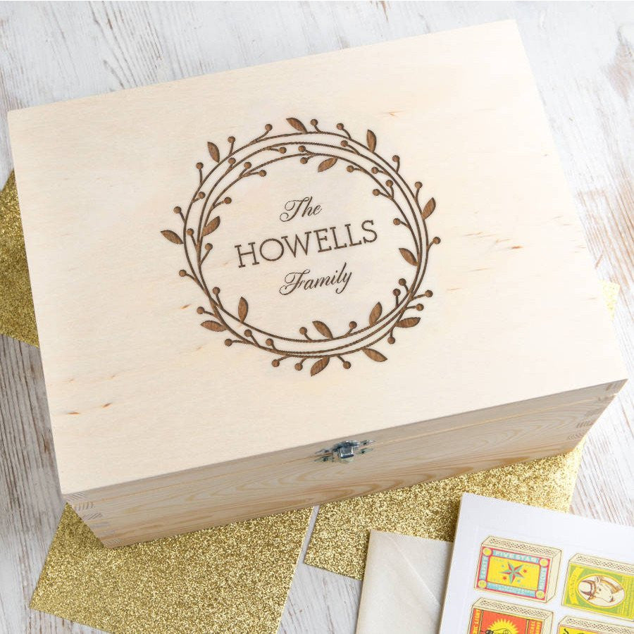Dust & Things personalised keepsake box