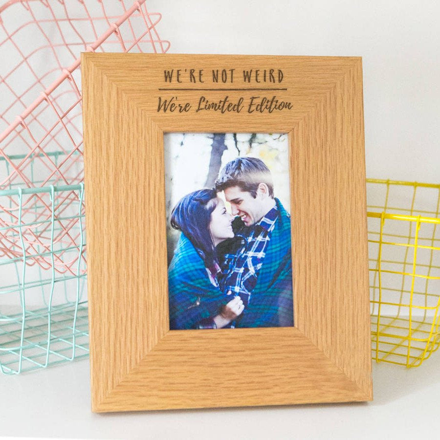 Dust & Things personalised photo frame