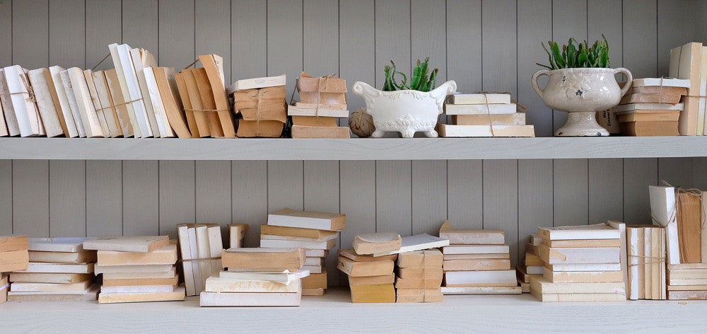 Clever ways to display your books
