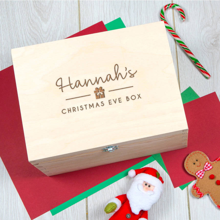 Personalised Christmas Eve Box For Teen Or Adult | Unusual Christmas ...
