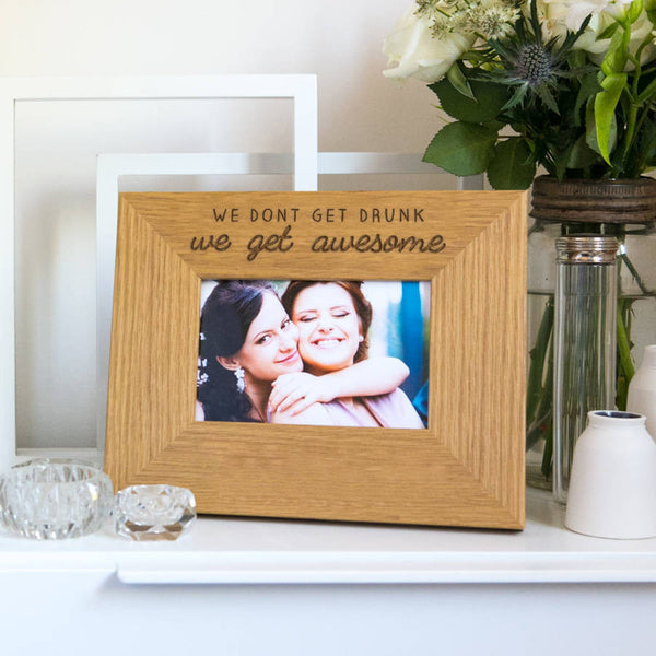 Engraved Picture Frames Personalised Photo Frame