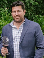 Winemaker Jeff Cole at Sullivan Rutherford Estate