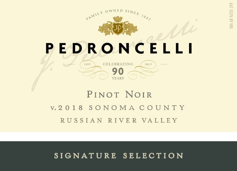 Signature Selection Pinot Noir 2018