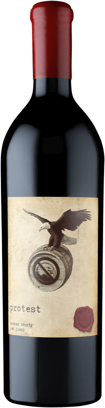 Protest Red Blend Aged in Rye Whiskey Barrels