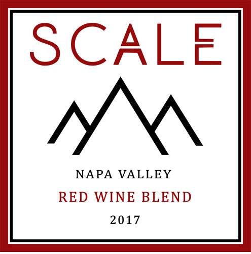 Scale Napa Valley Red Blend 2017