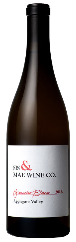 Sis & Mae Wine Co. Grenache Blanc 2018