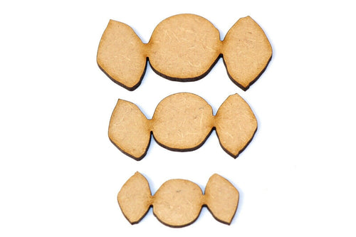 Wooden MDF Carrot Shapes Bunting Craft Embellishments food Animal Decoration