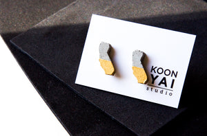 CALIFORNIA Concrete Earrings
