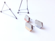 Load image into Gallery viewer, IOWA Concrete Earrings