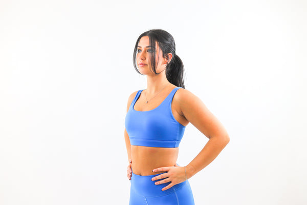 LUX Sports Bra - Ocean Blue