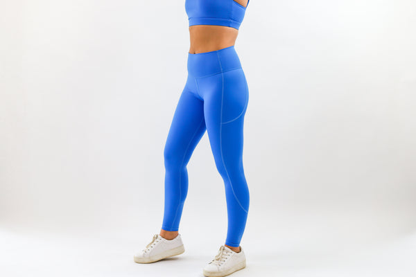 LUX Leggings - Ocean Blue
