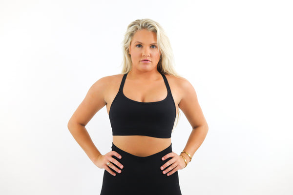 OG Sports Bra - Midnight Black