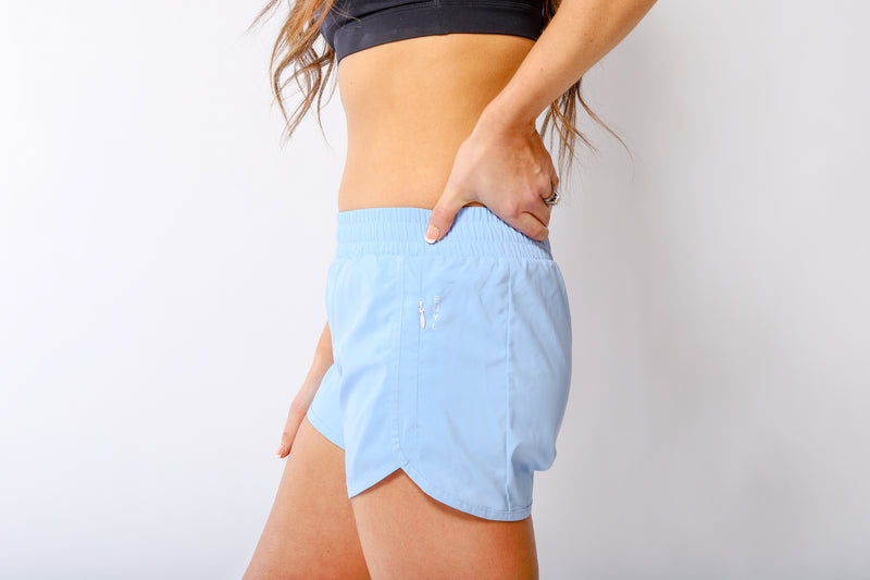 Active Shorts - Periwinkle