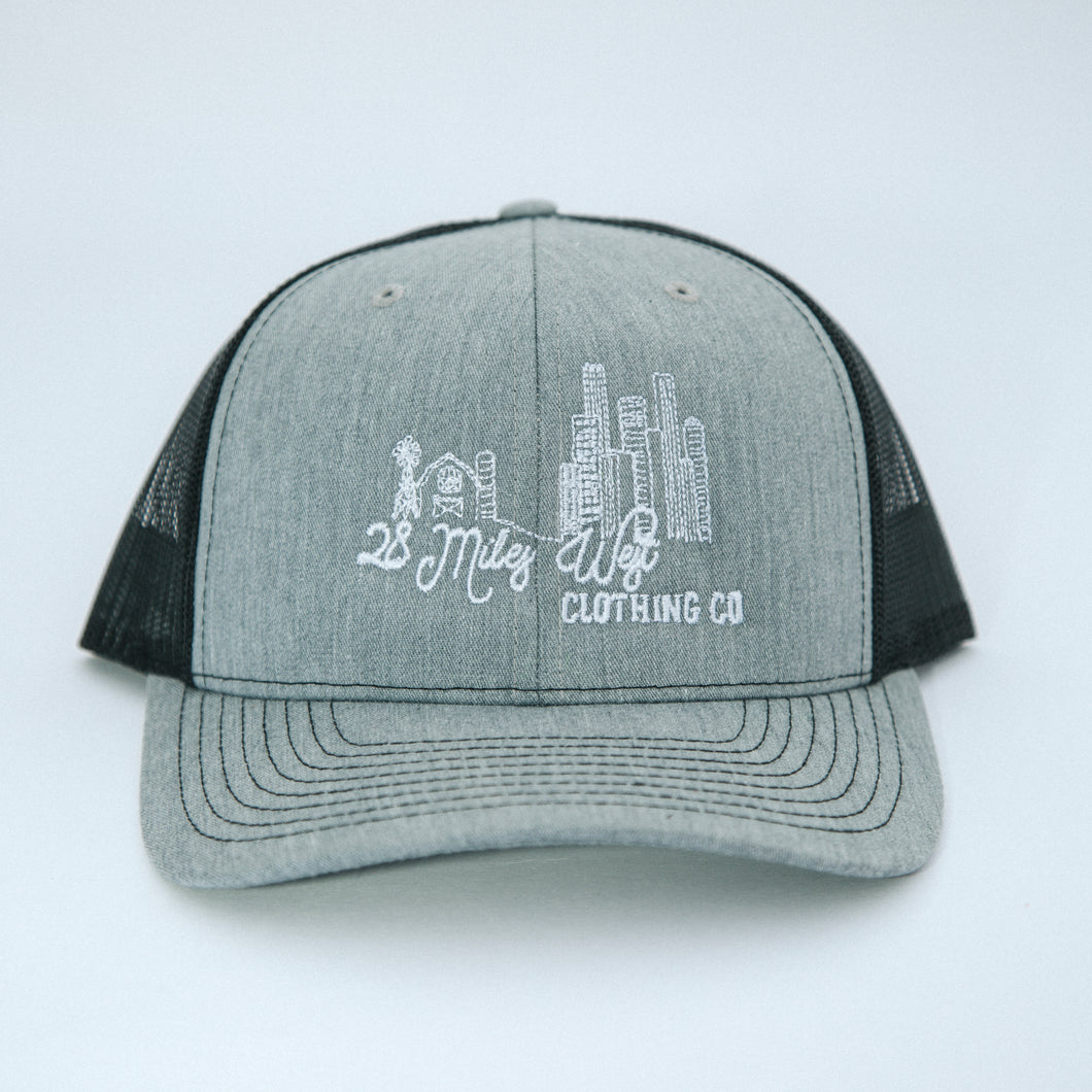 28 Miles West Logo Ball Cap