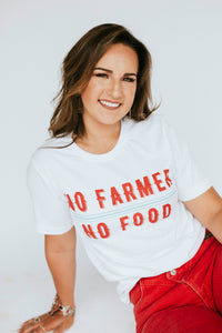 No Farmer No Food Graphic Tee - Unisex