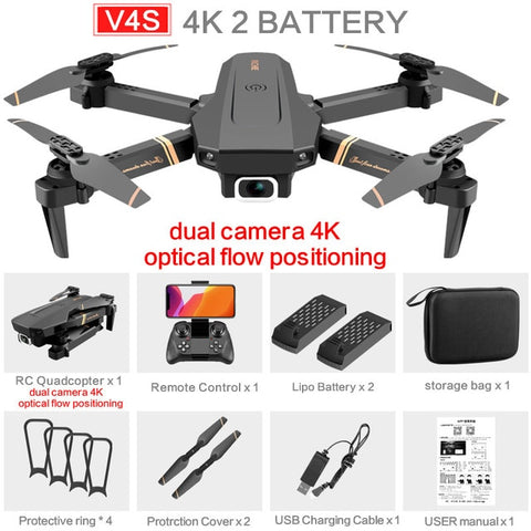 DJI Mavic Twin Carbon - 4K HD FPV Camera - Top Selling Foldable Drone