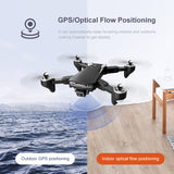 Pro KK7 4K Dual Focus Camera (Foldable Professional Aerial Photography Drone)