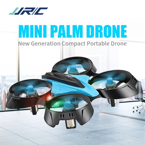 Mini 360 Flip Neon LED Palm Drone
