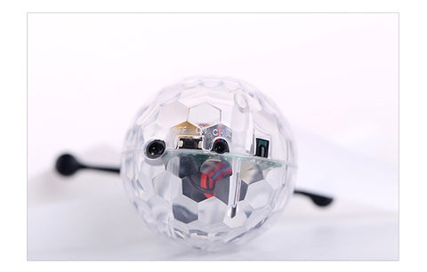 Colorful LED Kids Crystal Ball  Kaleidoscope UFO Drone