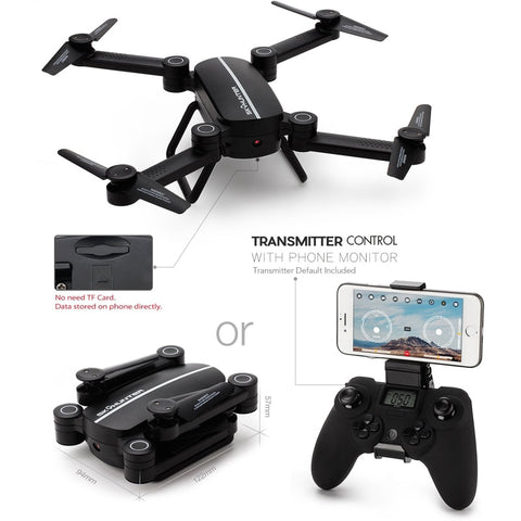 Sky Hunter Foldable Drone with Controller