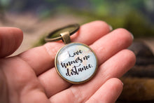 Load image into Gallery viewer, Long distance relationship gift, map keychain, boyfriend gift, girlfriend gift, gift for men, gift for him, gift for her, Love gift