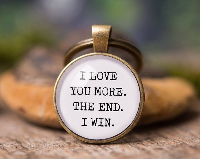 Boyfriend gift, girlfriend gift, gift for men, birthday gift for him, men gift, gift for her, car key chain, love gift, I love you more.