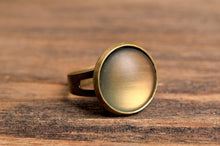 Load image into Gallery viewer, Rustic ring, birthday gift for women, jewelry gift for her, girlfriend gift, statement ring, adjustable ring, Christmas gift, mom gift