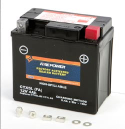Battery 50cc Fire Power Sealed