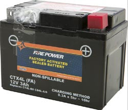 Battery '89-'01 Fire Power Sealed