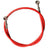 Brake Line Steel Braided with Red Cover