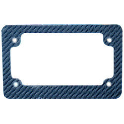 Zuma Plate License Frame-Carbon Fiber