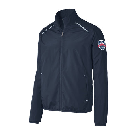 Carmel Marathon Zephyr 26.2 Reflective Full-Zip Light Weight Jacket