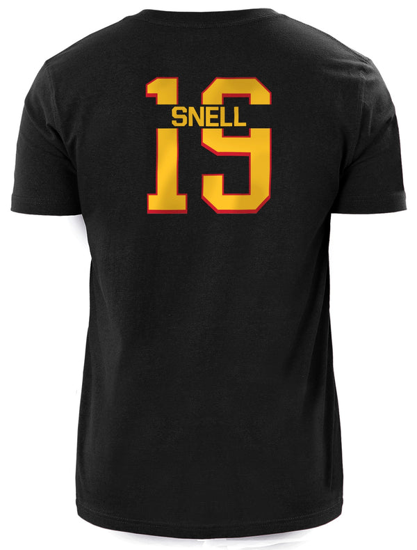 Snell New Era Name + Number Tee