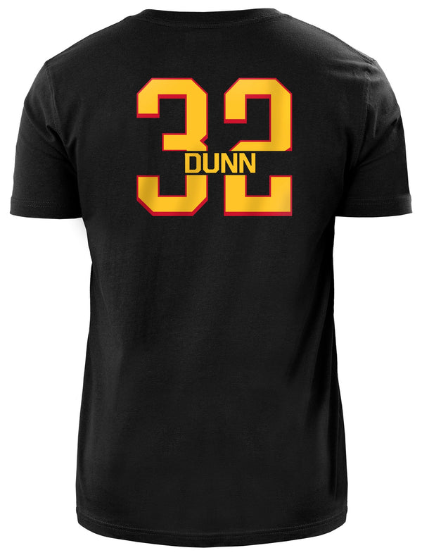 Dunn New Era Name + Number Tee