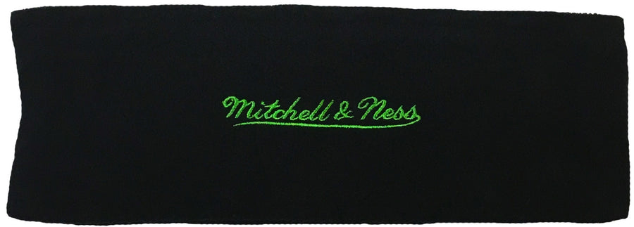 Mitchell & Ness Retro Black Fleece Ear Warmer