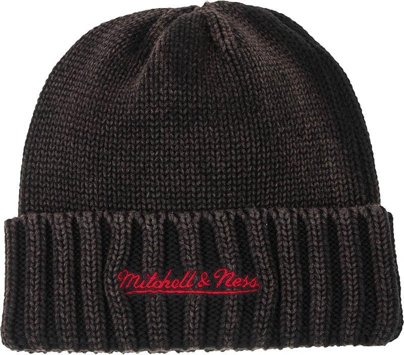 Mitchell & Ness Retro Ribbed Beanie