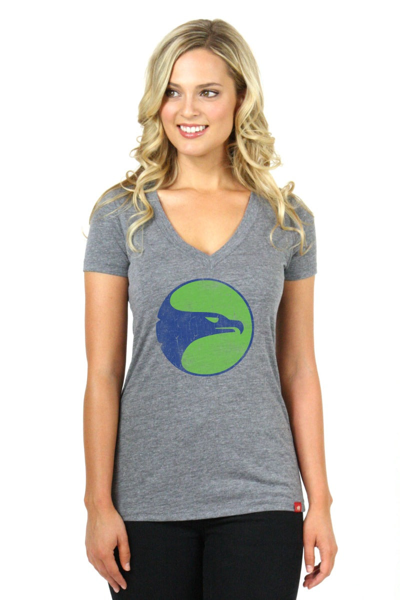Women's Sportiqe Retro V-Neck
