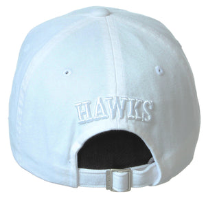 White Tonal Dad Hat