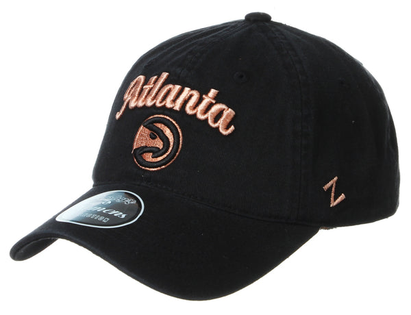 Women's Rose Gold Hawks Script Dad Hat