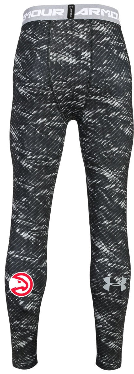 Youth Under Armour Compression Basketball Leggings Hawks Shop