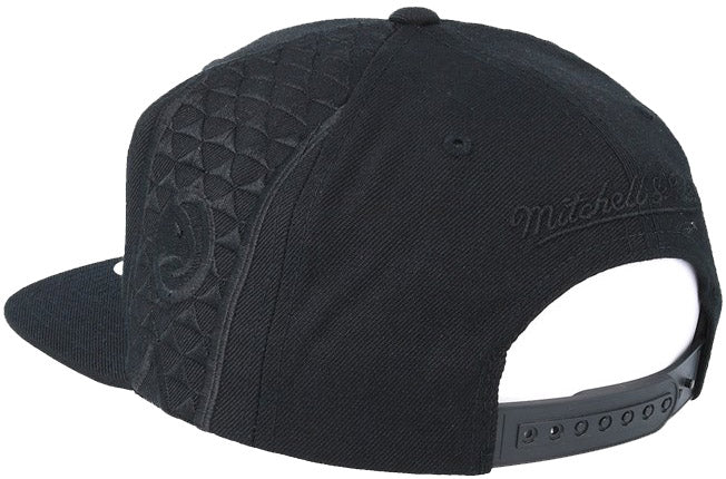 Mitchell & Ness Full Primary Black Tonal Snapback