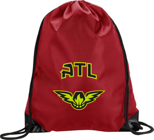 ATL Red Cinch Bag