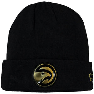 New Era Gold Embossed Primary Knit