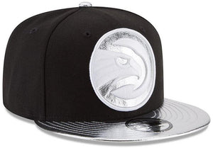 New Era Black Shiny Trim Snapback