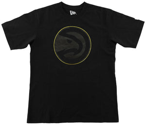 New Era Gold Outlined Primary Shadow Tee