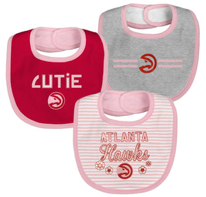 Baby Outerstuff Primary Fair Shot 3 Piece Bib Set