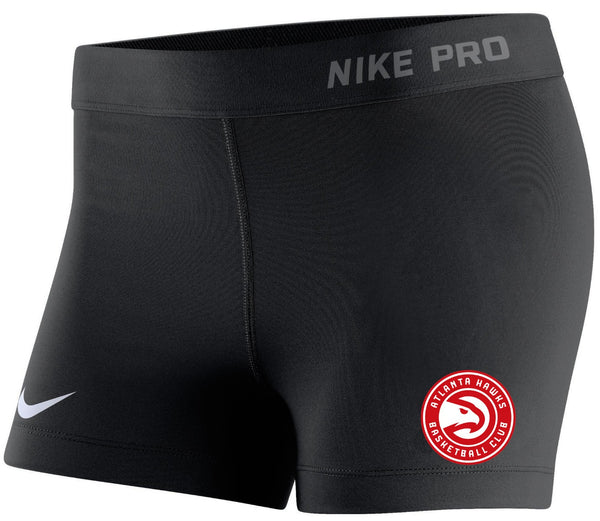 Women's Nike Black Compression Shorts