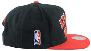 Mitchell & Ness Block Out Wordmark Snapback